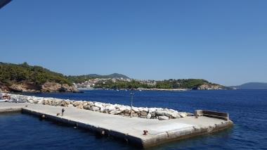 Schiffsfahrt über Skiathos