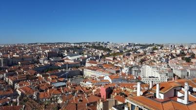 Blick vom Castelo