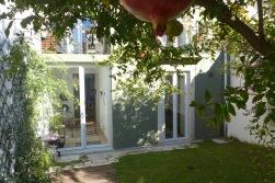 Blick zur Gartentür