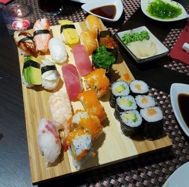 Sushi Mix Menü F