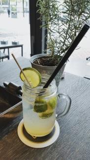 Zitronen Holunder Limo