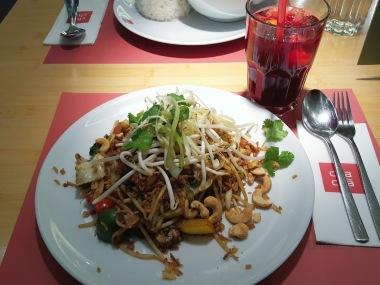 Mein Essen - gebratener Reis