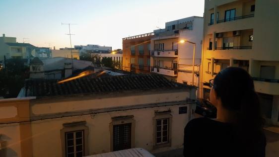 Sonnenuntergang beobachten