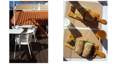Terrasse / Frühstück
