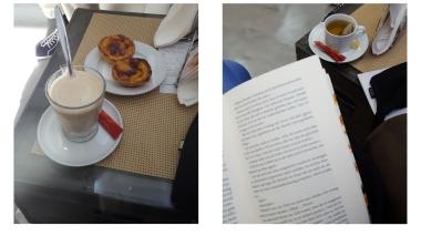 Kaffee, Tee und Gebäck / Lesen